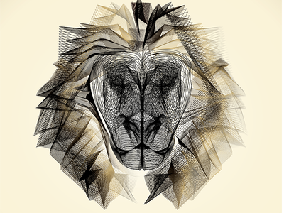 Line Drawing Lion Head : Cheetah head download free vector art stock graphics images