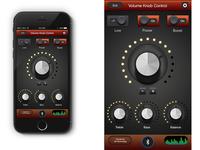 Volume Knob App UI Design