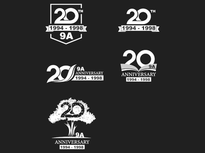 Logo 20th anniversary