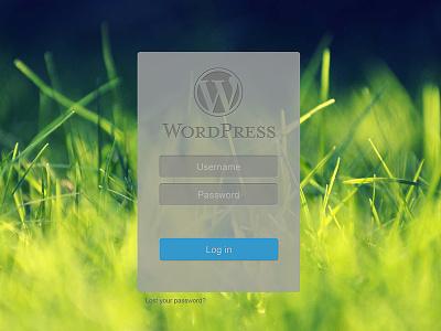 Wordpress Login grass wordpress login
