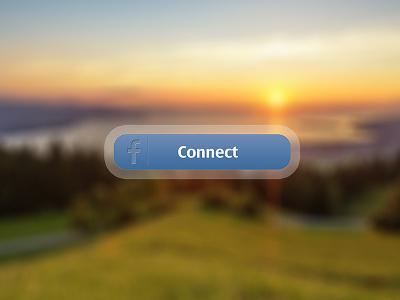 Facebook connect button facebook connect button login blue