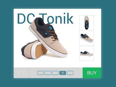E-Commerce Shop - Single Item ui daily shop e-commerce item single
