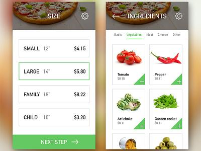 Pizza app 2 design pizza uiux app