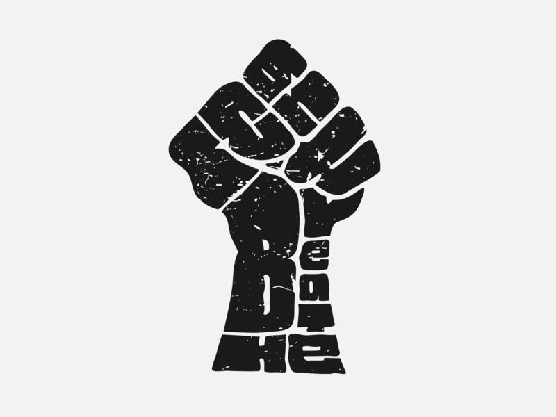 #blacklivesmatter illustration doodle fuck racism black lives matter
