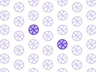 2x Dribbble Invitations invite purple pattern talent invitations dribbble