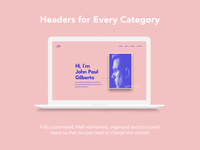 Creative Website Headers