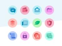 Multi-tone icons