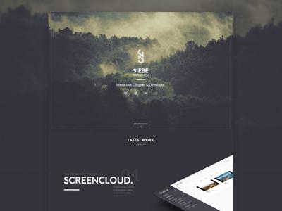 Portfolio Redesign homepage casestudy redesign portfolio