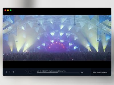 Striiim Mac Video Player (wip) wip ui app mac player video
