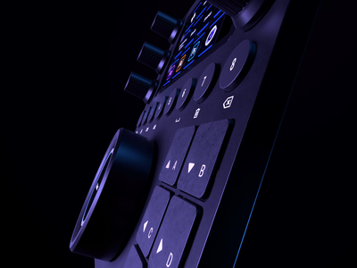 LoupeDeck CT® ae motion animation muzli octane c4d cinema4d illustration product design ui userinterface tech model 3d