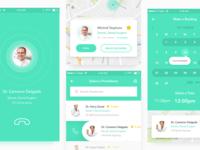 Medical App UI Kit preview
