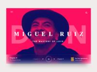 Don Miguel Ruiz - Audio Player