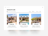 Home Listings Concept