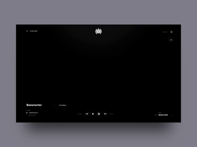 MOS Music Player - Animated