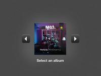 Dark Spotify Widget (2)
