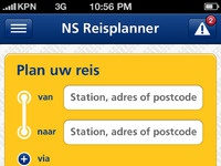 Ns user interface