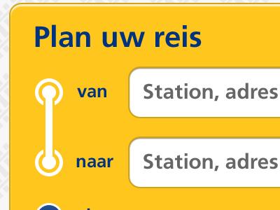 Dutch Railways app