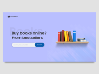 Online Book Store Landing Page