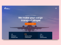 Cargo Shipping Landing Page Exploration