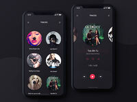Music Player App Dark