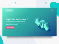 404 Landing Page - Exploration