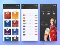 Cricket IPL App XD Freebie