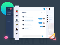 Tweat Chat UI Design