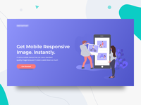 Illustration Landing Page Exploration