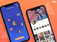 Friends Finder App - iphonex