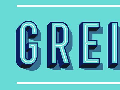 - VON GREIFSWALD - letters vector branddesign branding logo