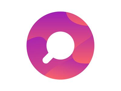 Coffi App keepitsimple startup tech colorgradient ios icon app vector branddesign branding logo