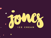 jones ice cream