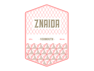 znaida vermouth vermouth brand bottle mark label