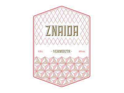 znaida vermouth vermouth brand bottle mark label