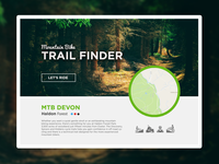 Mountain Biking Trail Finder UI
