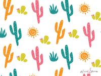 Fun Cactus Pattern
