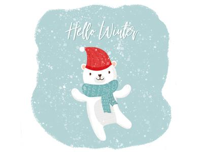Hello Winter Bear