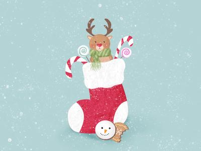 Sugar Cookies reindeer candy photoshop design illustration cookies sugarcookie
