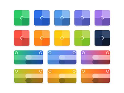 Marfeel's Color Palette trend 2020 list design progress emergency allert center point gradient minimal brand palette select theme ux ui color marfeel