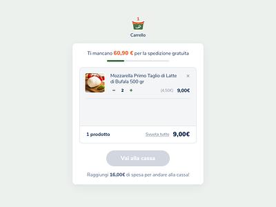 primotaglio.it wizard search bar ux ui design experience price store list button product process detail popup popover checkout ecommerce primotaglio