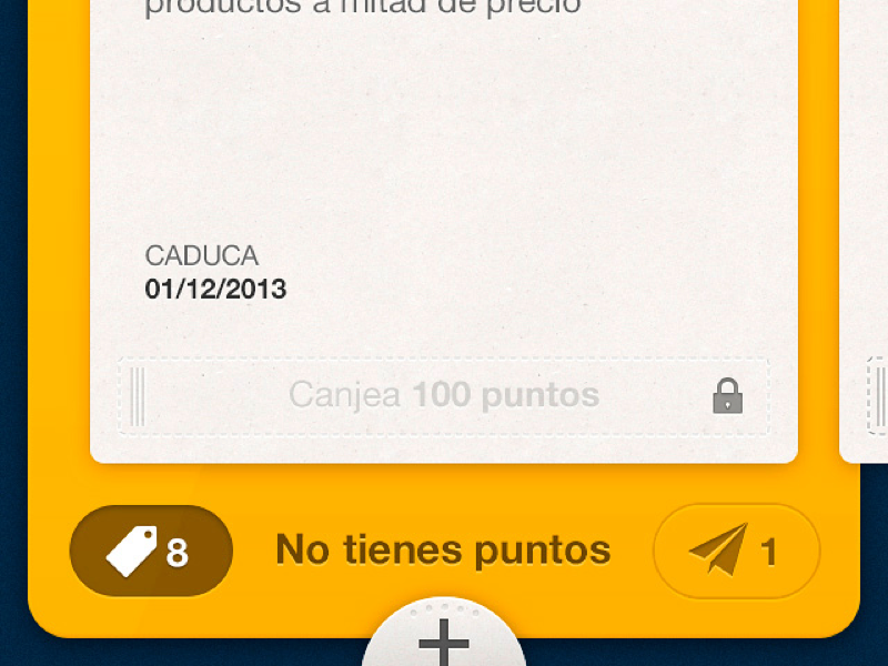 100 montaditos App interface user game points offer promo design map 100 montaditos app ux ui