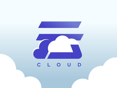 Cloud logo in Chinese character