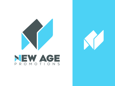New Age Promotions Logo design