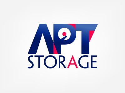 Apt Storage Logo design