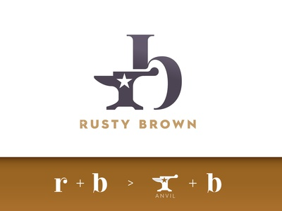 Rusty Brown logo design