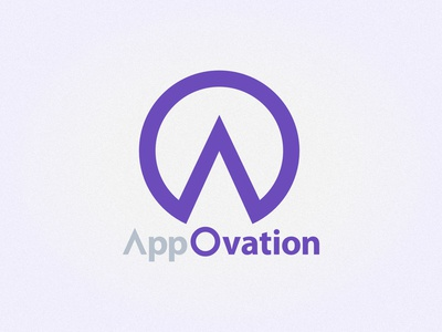 AppOvation logo design