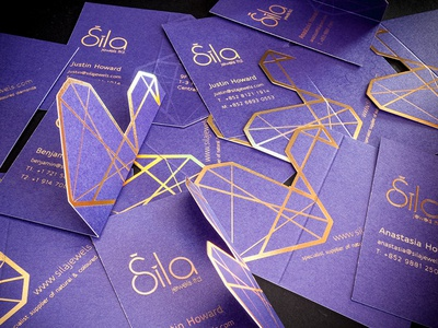 Business Card Design For Sila