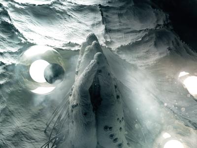 Pray for spheres c4d styleframe 3d space fantasy stuzor star trek scifi