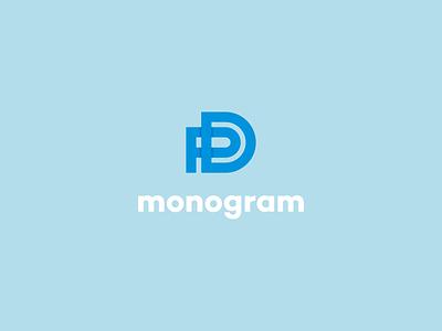 pd monogram symbol logo minimalist minimal monogram lettermark pd monogram pd