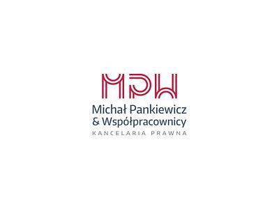 Michał Pankiewicz & Współpracownicy minimalist minimal monogram lettermark symbol logo mpw lettermark mpw monogram mpw